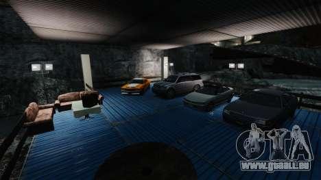 Salon de l'automobile pour GTA 4 quatrième écran