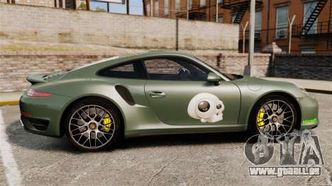 Porsche 911 Turbo 2014 [EPM] Ghosts für GTA 4 linke Ansicht