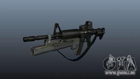 Automatique carabine M4A1 v3 pour GTA 4