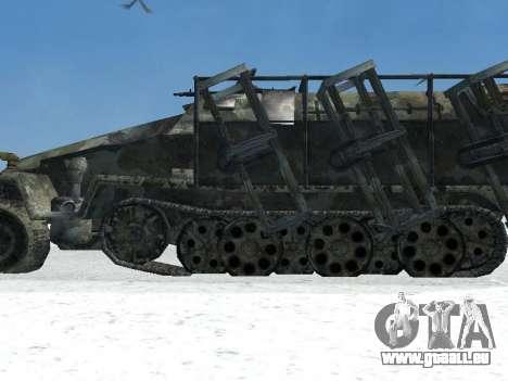 SdKfz 251 für GTA San Andreas zurück linke Ansicht