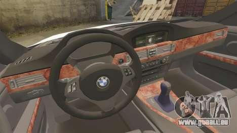 BMW 350i NYPD [ELS] für GTA 4 Seitenansicht