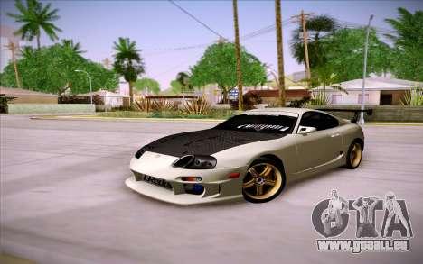 Toyota Supra RZ 1998 Drift pour GTA San Andreas vue intérieure