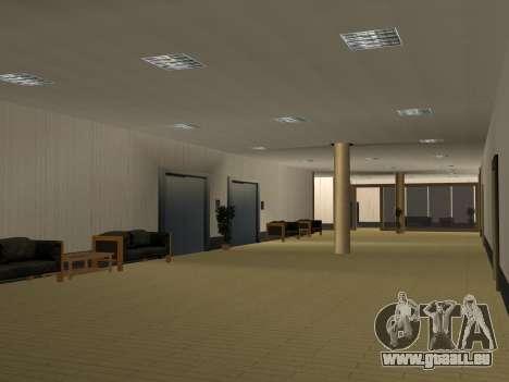 Nouvelles textures intérieur Mairie pour GTA San Andreas neuvième écran