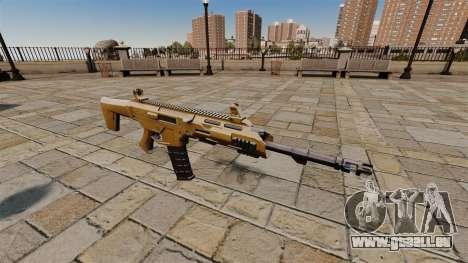 Fusil d'assaut de SMALL BUSINESS SERVER 5.56 pour GTA 4