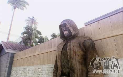Bandit dans le manteau pour GTA San Andreas quatrième écran