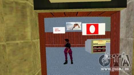 Boutique de MTS pour GTA Vice City cinquième écran