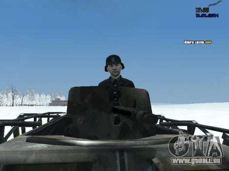 SdKfz 251 für GTA San Andreas rechten Ansicht