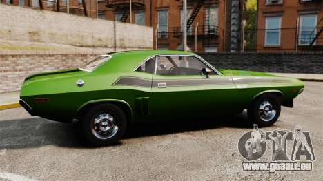 Dodge Challenger 1971 v2 für GTA 4 linke Ansicht