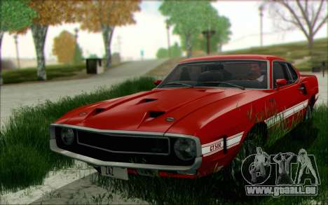Shelby GT500 428 Cobra Jet 1969 v1.1 pour GTA San Andreas