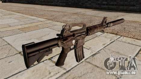 SMG M4 Karabiner mit Schalldämpfer für GTA 4 Sekunden Bildschirm