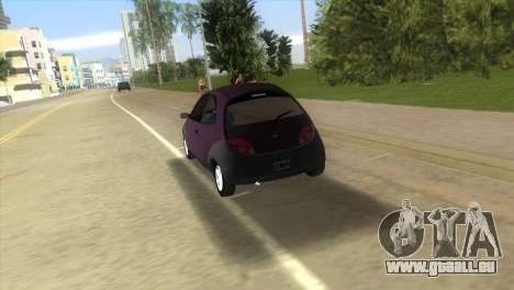 Ford Ka für GTA Vice City Rückansicht