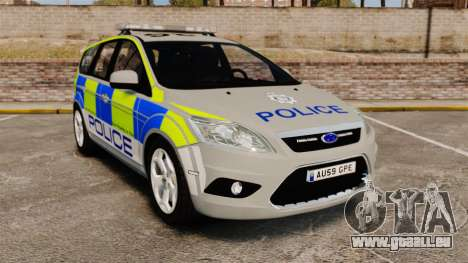 Ford Focus Estate Norfolk Constabulary [ELS] für GTA 4