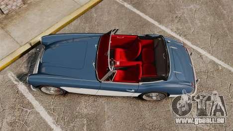 Austin-Healey 3000 Mk III 1965 für GTA 4 rechte Ansicht