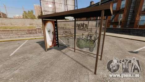 Neue Plakate an Bushaltestellen für GTA 4 Sekunden Bildschirm