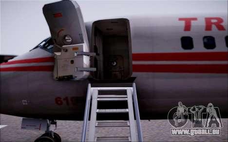 McDonnel Douglas DC-9-10 pour GTA San Andreas vue de dessous