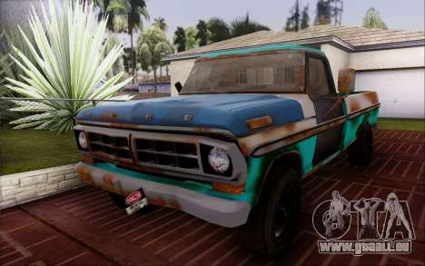 Ford F-150 Old Crate Edition pour GTA San Andreas vue de droite