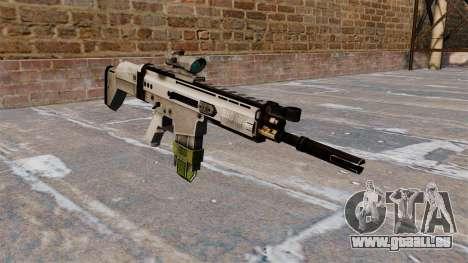 Fusil automatique FN SCAR-H pour GTA 4