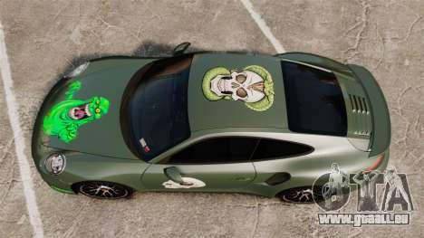 Porsche 911 Turbo 2014 [EPM] Ghosts pour GTA 4 est un droit