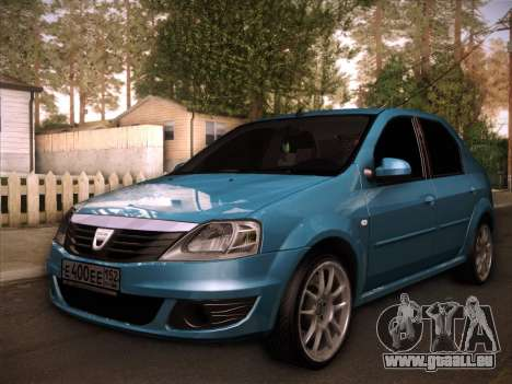 Dacia Logan GrayEdit pour GTA San Andreas