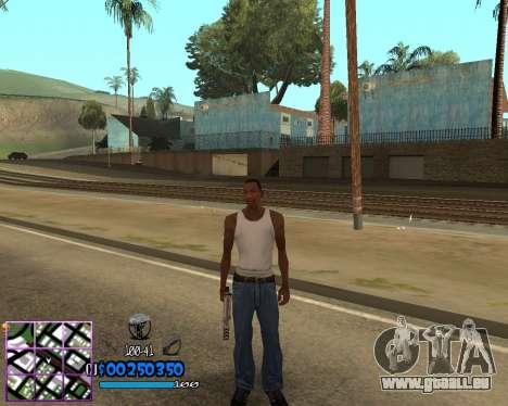 C-HUD by Dony Scofield für GTA San Andreas zweiten Screenshot