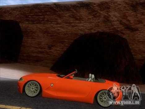 BMW Z4 Edit pour GTA San Andreas vue de droite