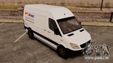 Mercedes-Benz Sprinter 2500 2011 v1.4 pour GTA 4 Salon