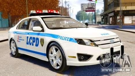 Ford Fusion LCPD 2011 [ELS] für GTA 4