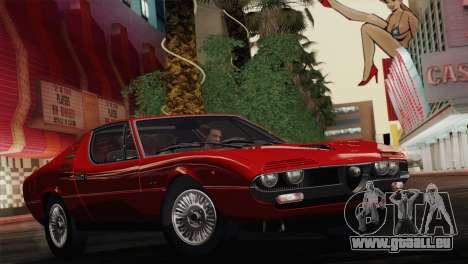 Alfa Romeo Montreal (105) 1970 für GTA San Andreas Seitenansicht