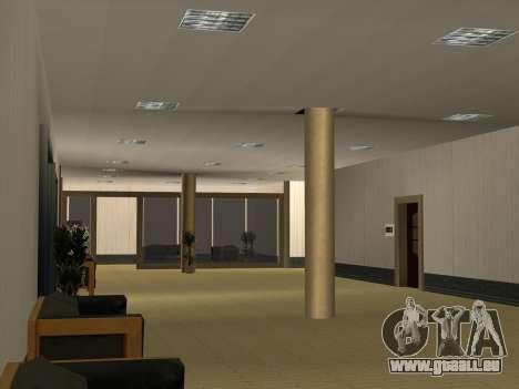 Nouvelles textures intérieur Mairie pour GTA San Andreas huitième écran