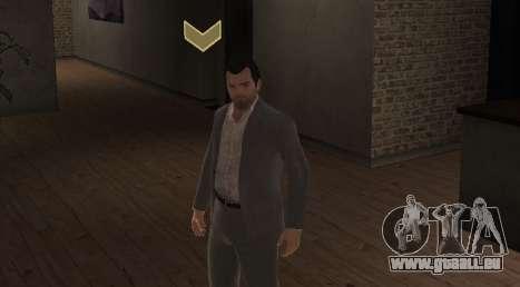 Michael De Santa from GTA V pour GTA 4 secondes d'écran
