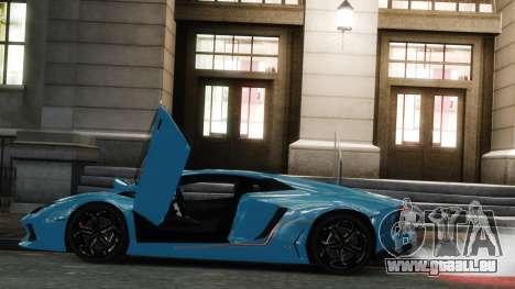 Lamborghini Aventador LP700-4 [EPM] 2012 pour GTA 4 est une gauche