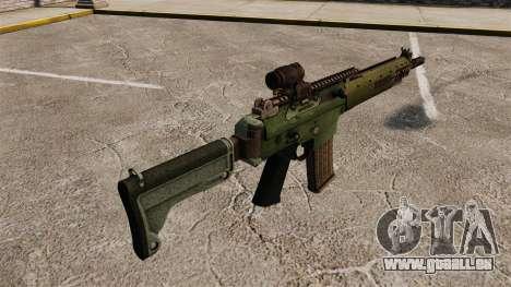 Automatische Karabiner Ak5C für GTA 4 Sekunden Bildschirm