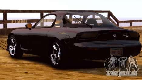 Mazda RX-7 FD 1999 pour GTA 4 est un droit