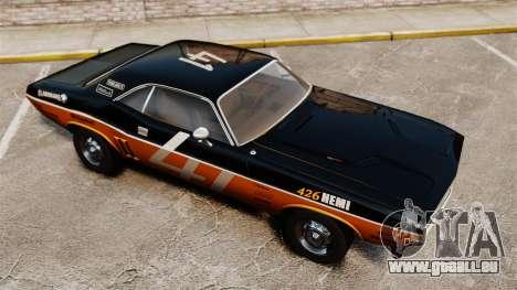 Dodge Challenger 1971 v2 pour GTA 4 est un côté