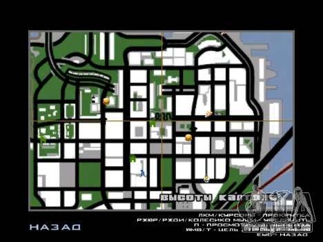 Neue Motorhaube und Symbole auf der Karte für GTA San Andreas dritten Screenshot