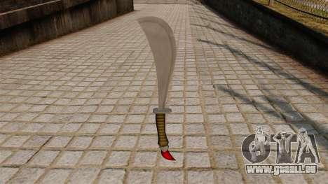 Dague pour GTA 4