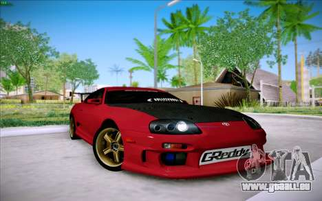 Toyota Supra RZ 1998 Drift für GTA San Andreas linke Ansicht