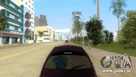 Ford Ka pour une vue GTA Vice City de la droite