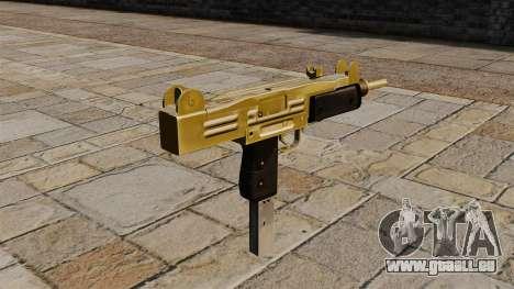 Pistolet mitrailleur Uzi pour GTA 4 secondes d'écran