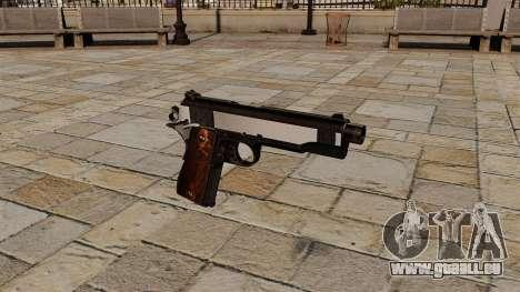 Pistolet Colt 1911 Snake Eater pour GTA 4