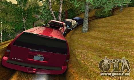Chevrolet Suburban 2008 für GTA San Andreas Rückansicht