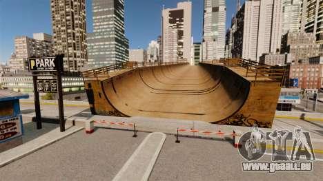Algonquin Stunt Ramp für GTA 4