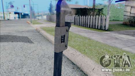 Clé à molette pour GTA San Andreas quatrième écran