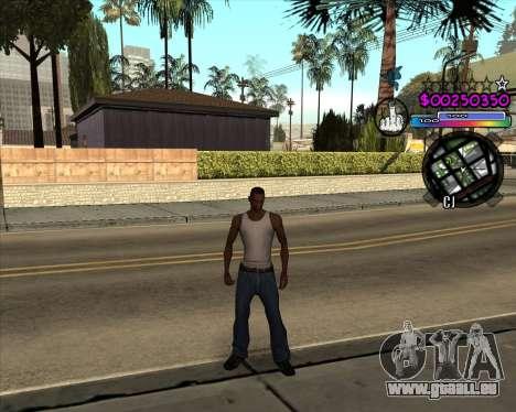 C-HUD by Andy Cardozo für GTA San Andreas