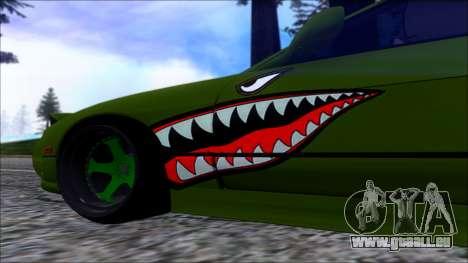Nissan Onevia Shark pour GTA San Andreas sur la vue arrière gauche
