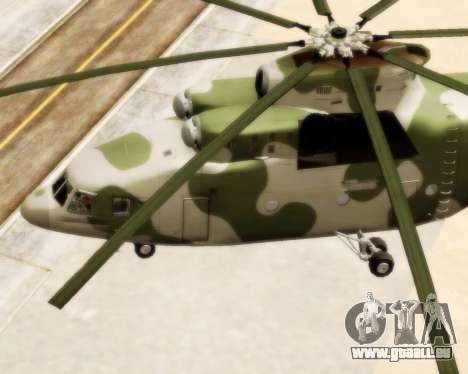 MI-26 für GTA San Andreas rechten Ansicht