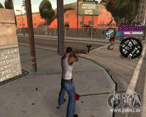 C-HUD by Andy Cardozo für GTA San Andreas zweiten Screenshot