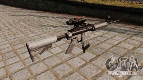 Automatische Carbine M4A1 Gültigkeitsbereich für GTA 4 Sekunden Bildschirm