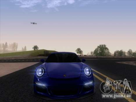 Porsche 911 GT3 2014 pour GTA San Andreas vue arrière