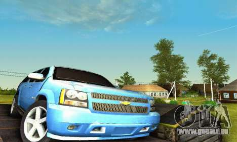 Chevrolet Suburban 2008 für GTA San Andreas Innen